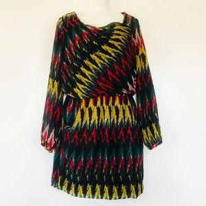 W118 Walter Baker Dafney Dress Blouson Multicolor
